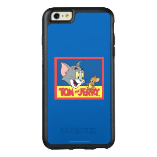 Tom And Jerry Logo Flat OtterBox iPhone 6/6s Plus Case