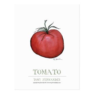 tomato, tony fernandes postcard