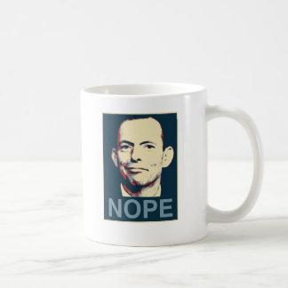 Tony Abbott Basic White Mug