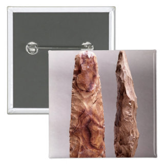 Tools from Campigny, 6000-2000 BC 15 Cm Square Badge