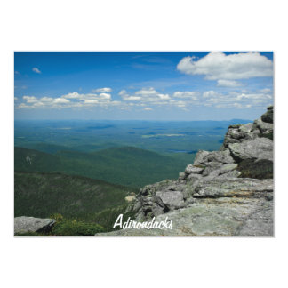 Top of Whiteface Mountain, Adirondacks, NY 13 Cm X 18 Cm Invitation Card