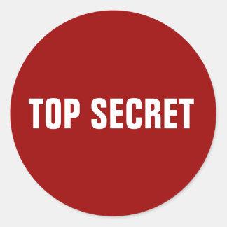 Top Secret Stickers