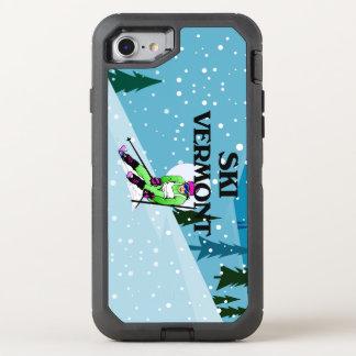 TOP Ski Vermont OtterBox Defender iPhone 7 Case