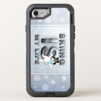 TOP Skiing is My Life OtterBox Defender iPhone 7 Case
