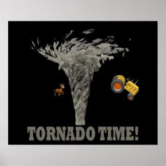 TORNADO TIME POSTER