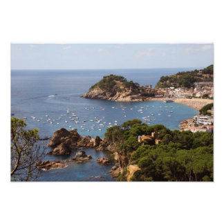TOSSA DE MAR. Town located in the Costa Brava. Photograph