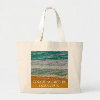 Touching Ripples Jumbo Tote Bag