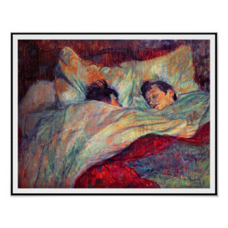 Toulouse-Lautrec - Couple In Bed Poster