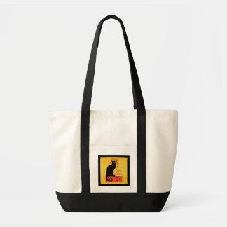 Tournee du Chat Noir Black Cat Art Nouveau Impulse Tote Bag
