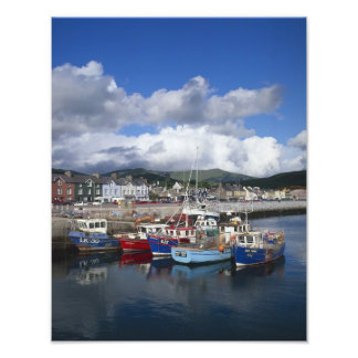 Town and Harbour, Dingle, County Kerry, Photo