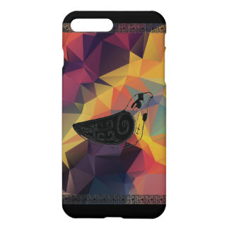 Traditional colorful bird iPhone 7 plus case