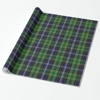 Traditional MacKellar Tartan Plaid Wrapping Paper