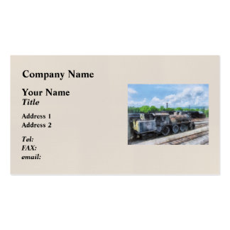 Trains - Old Locomotive Pack Of Standard Business Cards