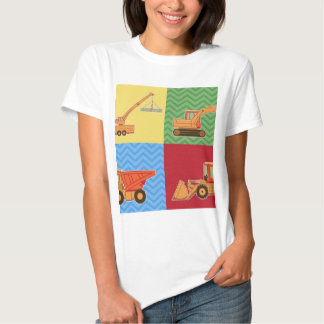 Transportation Heavy Equipment - Collage T Shirt