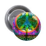 Tree of Life Peace 6 Cm Round Badge