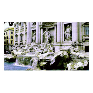 Trevi Fountain Pack Of Standard Business Cards