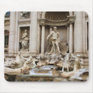 Trevi Fountain Rome Italy Travel Photo Mouse Pad