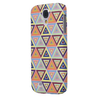 triangular pattern tile samsung galaxy S4 case