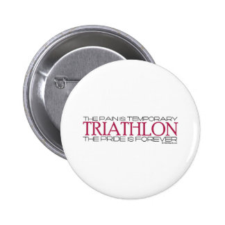 Triathlon – The Pride is Forever 6 Cm Round Badge