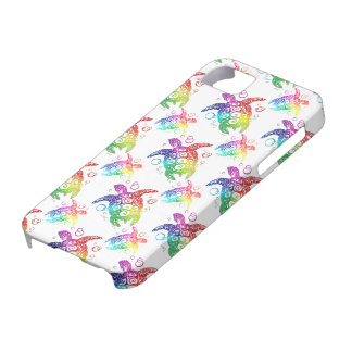 Tribal Turtle Rainbow Barely There iPhone 5 Case