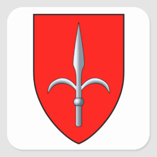 Trieste Coat of Arms Square Sticker