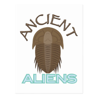 Trilobite Ancient Aliens Postcard