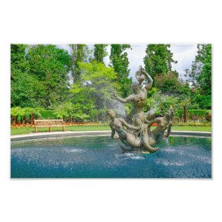 Triton Fountain Regent's Park, London Print Photograph