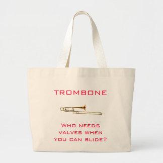 Trombone:  Who needs valves?  Bag