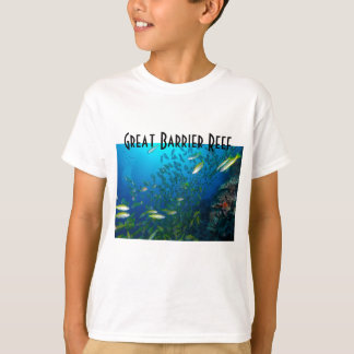 Tropical Fish Great Barrier Reef Coral Sea Tee Shirt