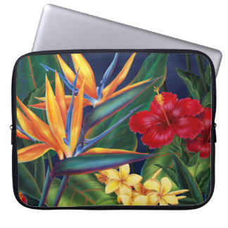 Tropical Paradise Neoprene Wetsuit Laptop Sleeve