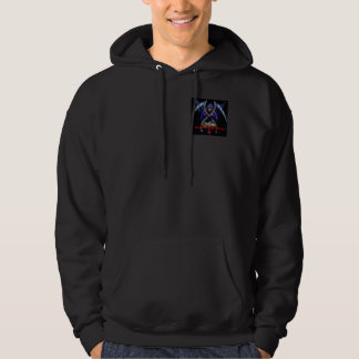 true darkness comes within true light hoody