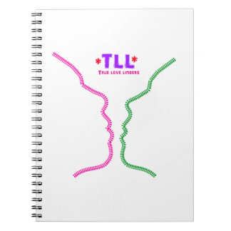 True LOVE Lingers Leather Look design Note Books