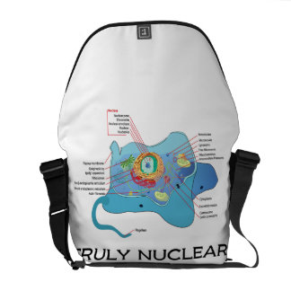 Truly Nuclear (Animal Cell Eukaryote Eukaryotic) Courier Bag
