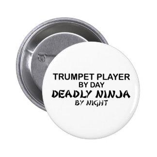 Trumpet Deadly Ninja by Night 6 Cm Round Badge