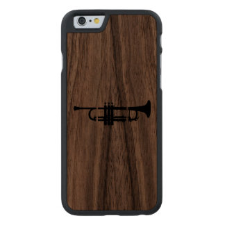 Trumpet Musician T-shirt for trumpeter Carved® Walnut iPhone 6 Case