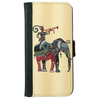 Trumpet Player iPhone 6 Wallet Case