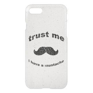 Trust me i have a mustache iPhone 7 case