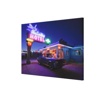 Tucumcari, New Mexico, United States. Route 66 2 Stretched Canvas Prints