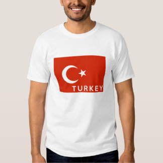 turkey country flag symbol name text t shirts