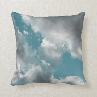 Turquoise Skies Throw Pillow Throw Cushions