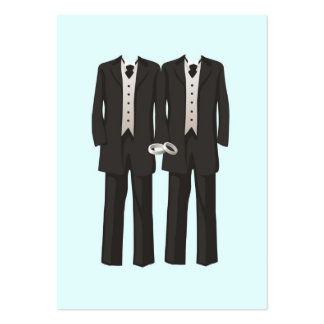 Tuxedos Pack Of Chubby Business Cards