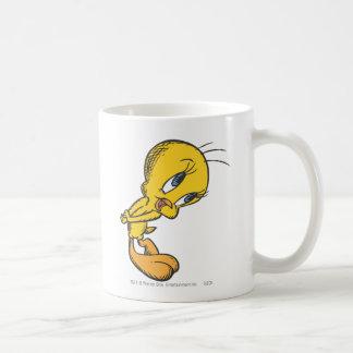 Tweety Bashful Basic White Mug