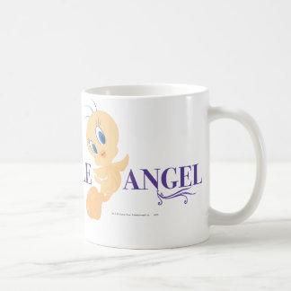 """Tweety """"Little Angel"""" Basic White Mug"""
