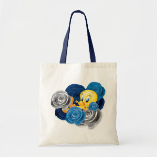 Tweety With Roses Budget Tote Bag