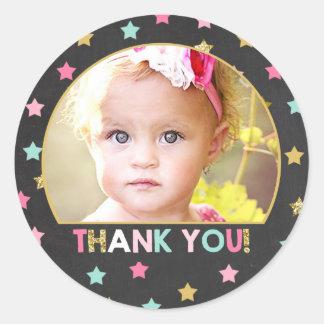 Twinkle Twinkle Little Star Sticker Cupcake Topper