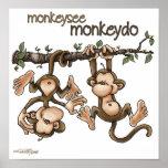 TWINS - Monkey See Monkey Do Poster