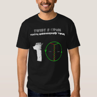 Twist 2 Open 10th Anniversary Tour T-Shirt (black)