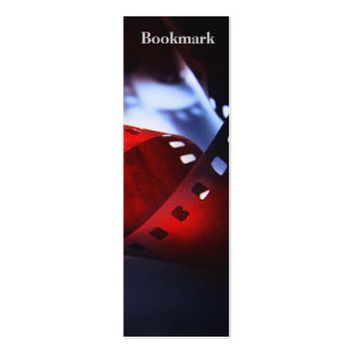 Twisted Film Bookmark Pack Of Skinny Business Cards