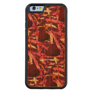 TWO HEARTS THAT BEAT AS ONE (red heart design) ~ Cherry iPhone 6 Bumper Case