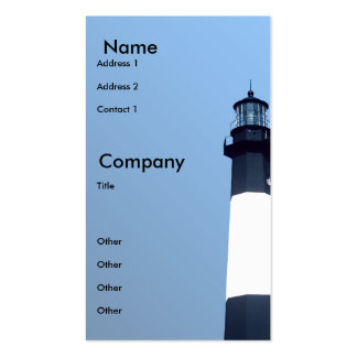 Tybee Ligthouse Pack Of Standard Business Cards